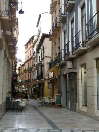 Navas Hotel: Calle Navas