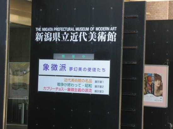 Niigata Prefectural Museum of Modern Art: 美術館正面入り口
