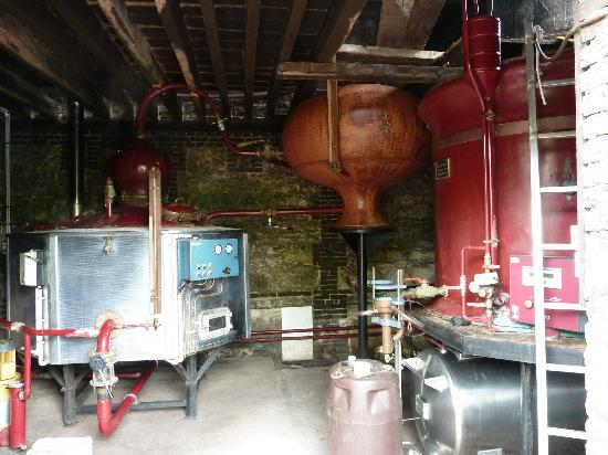 Domaine Dupont : Distillery
