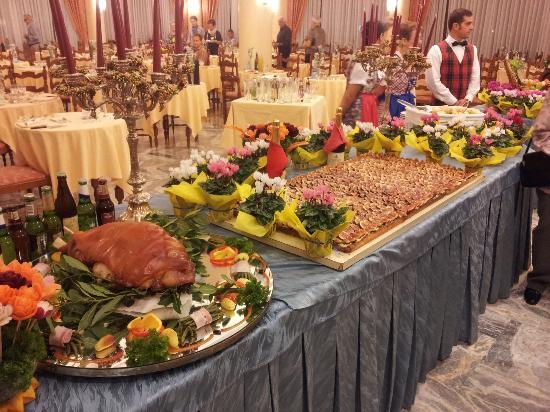 Hotel Abano Terme Cristoforo: Torta di fichi