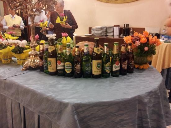 Hotel Abano Terme Cristoforo: Birre all' OktoberFest
