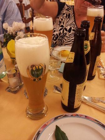 Hotel Abano Terme Cristoforo: Hopf Bier