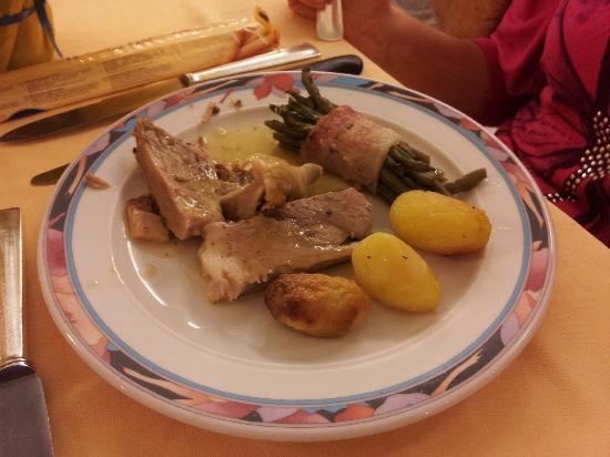 Hotel Abano Terme Cristoforo: Secondo piatto