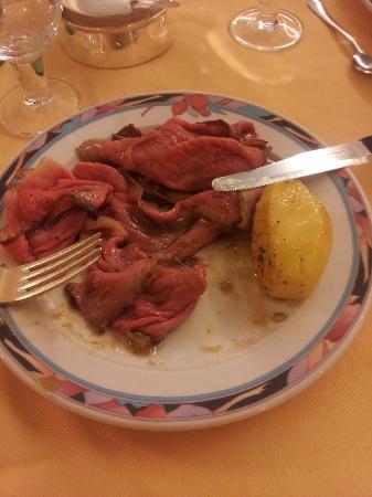 Hotel Abano Terme Cristoforo: Roast Beef