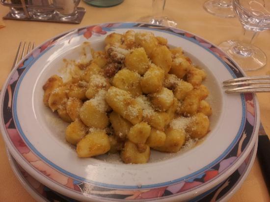 Hotel Abano Terme Cristoforo: Gnocchi