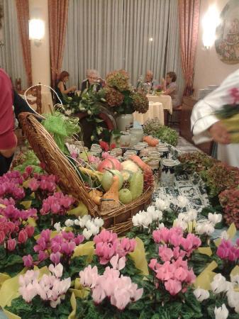 Hotel Abano Terme Cristoforo: Buffet