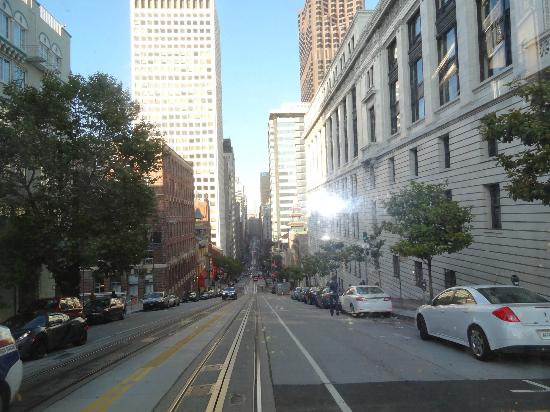 The Scarlet Huntington : The  Steep Streets of SF