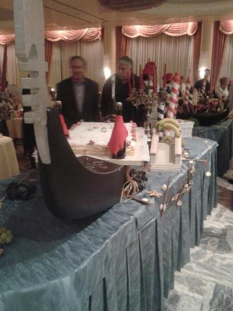 Hotel Abano Terme Cristoforo: Serata Veneziana