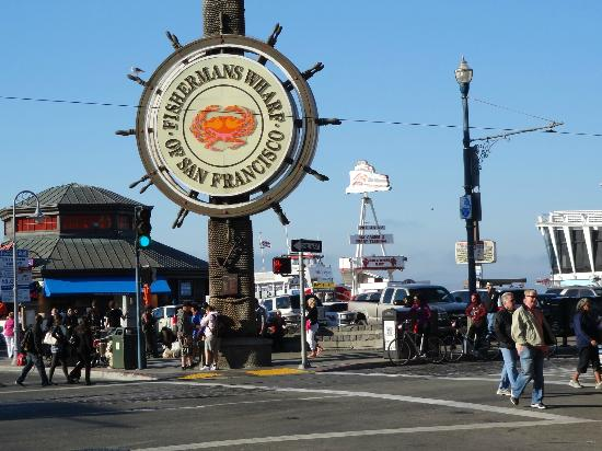 The Scarlet Huntington: The famous Fisherman`s wharf