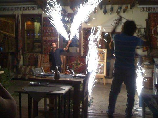 Doy Doy Kalkan Turkey : Birthday fireworks