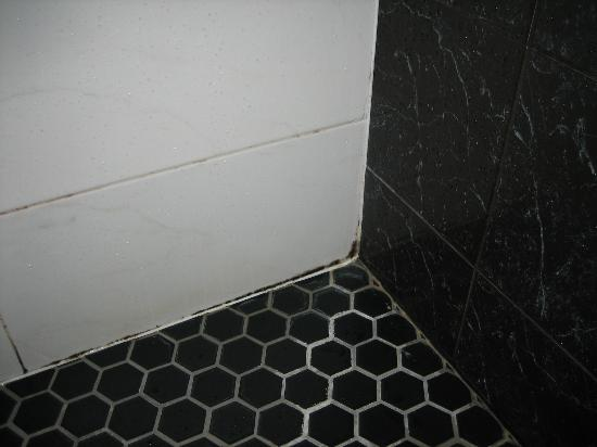 Washington Square Hotel: Bathroom gunk