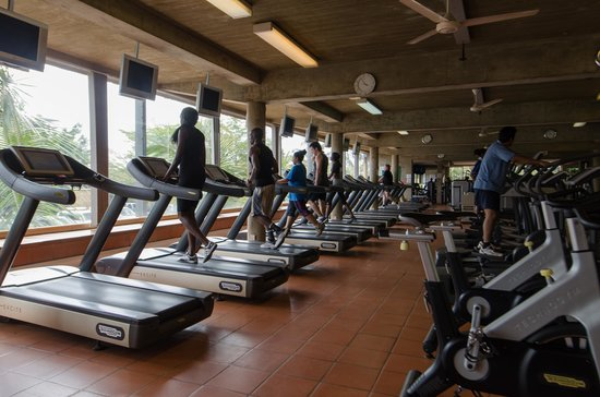Kabira Country Club: Gym