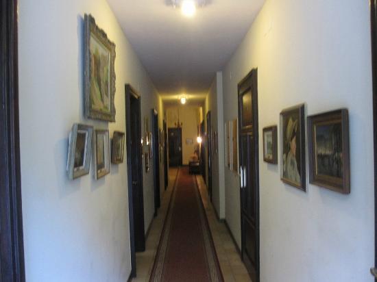 Hotel International au Lac: 廊下