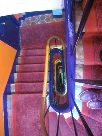 Hotel Eldorado stairwell