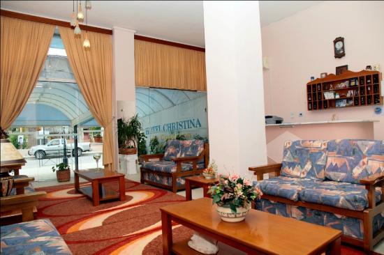 Christina Hotel: The hotel's lounge