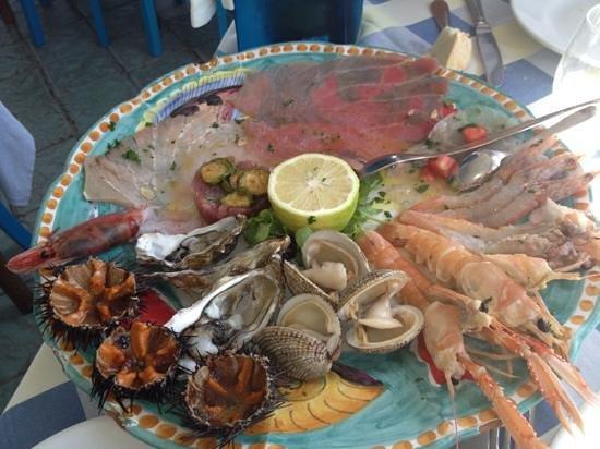 Ristorante L'Isola del Pescatore : crudo