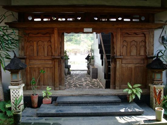 UMAH GRAN GUEST HOUSE: 住宿區入口