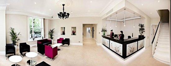 London House Hotel : New Lobby & Reception