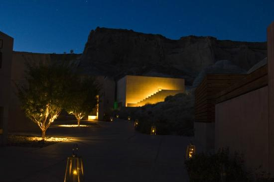 Amangiri: Property at Night