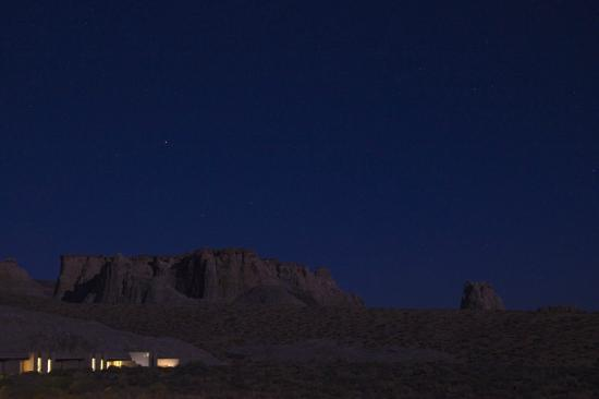 Amangiri: View of Desert at Night