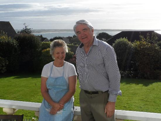 Glenorney by the Sea: Marie & George, our hosts