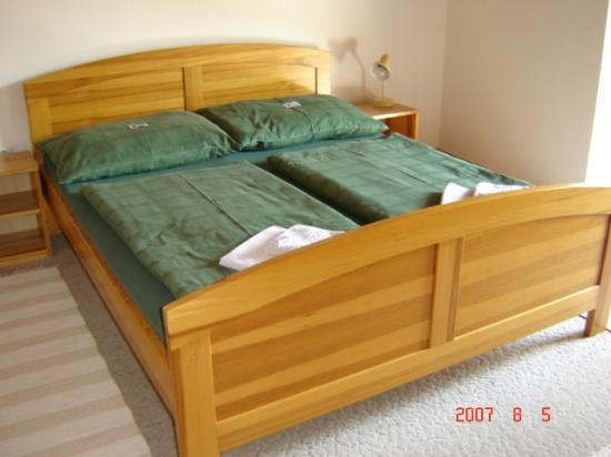 Penzion Stella: Double bed