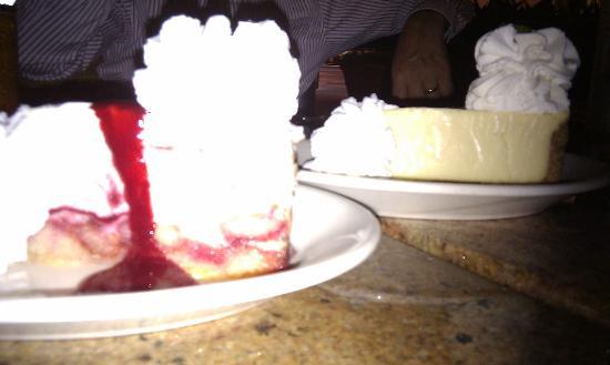 The Cheesecake Factory : Lemon & Raspberry and Key Lime