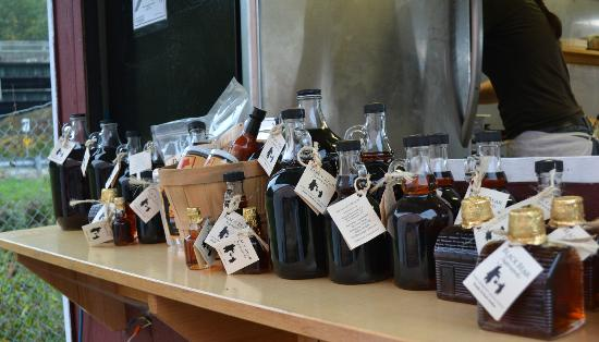 Black Bear Sugarworks Farm Stand: Our Maple Syrup in Glass