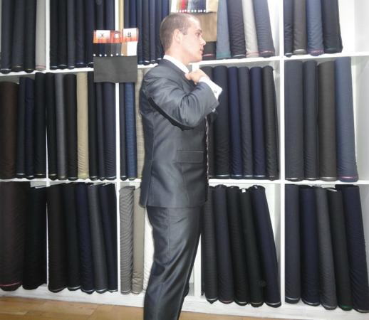 Dptailors: Silk and Cotton suit