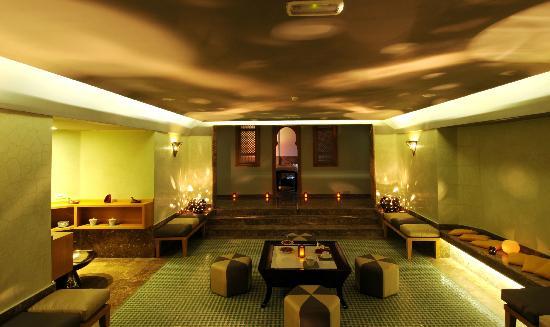 Le Spa du Palais Faraj : tisanerie