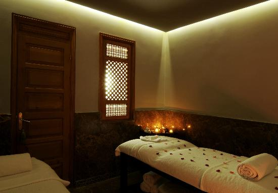 Le Spa du Palais Faraj: cabine de massage DUO