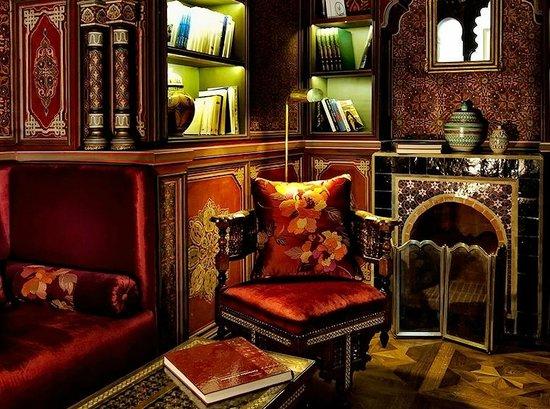 Palais Faraj Suites & Spa: Bibliotheque