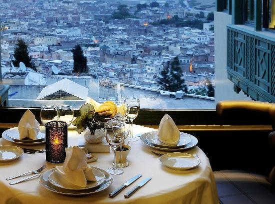 Palais Faraj Suites & Spa : Vue depuis le restaurant L'Amandier