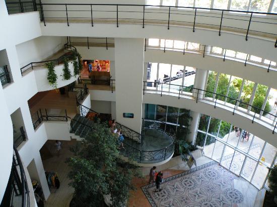 Club Marmara Kimeros Hotel: hall d'accueil