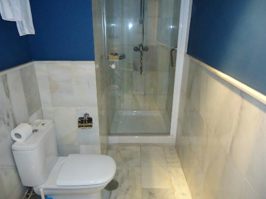 Atarazanas Malaga Boutique Hotel: Bathroom Rm 309