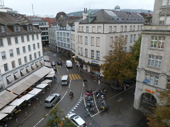 Hotel Glockenhof: View from our room