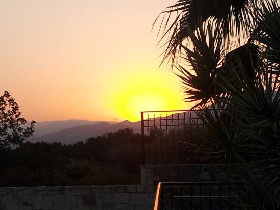 ‪‪Koni Village‬: sunrise at 6.45am greek time
