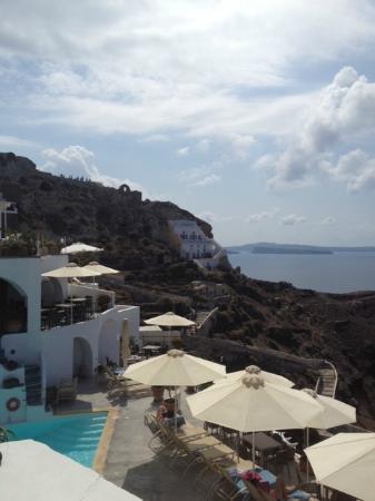 Esperas: Hotel view