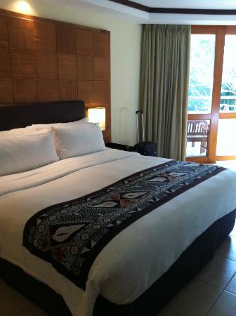 Shangri-La's Fijian Resort & Spa: Comfortable bed