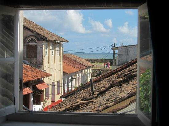 Mama's Galle Fort: View from the bedroom window Room 2