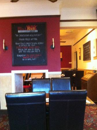 The Black Horse Inn : restaurant