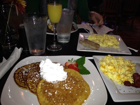 the garden brunch cafe pumpkin pancakes - Garden Brunch Cafe