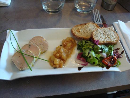 Les Oliviers: foie gras maison