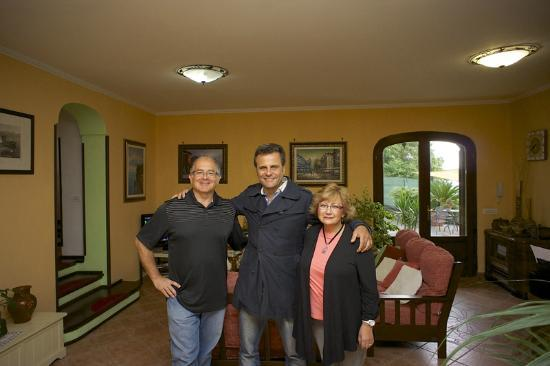 Villa Monica B&B: Together with Pasquale