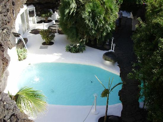 pool in der erde picture of fundacion cesar manrique costa teguise tripadvisor