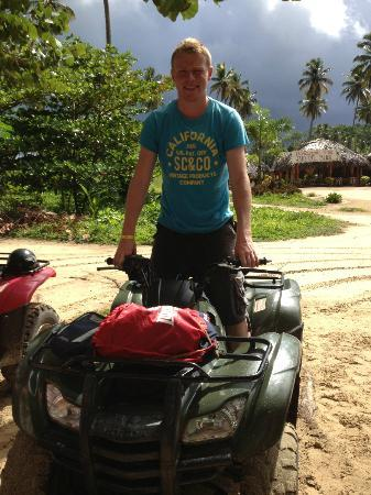 Grand Bahia Principe El Portillo: Quad biking - a must for sight seeing