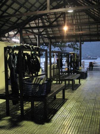 Kasawari Lembeh Resort: Diver Area