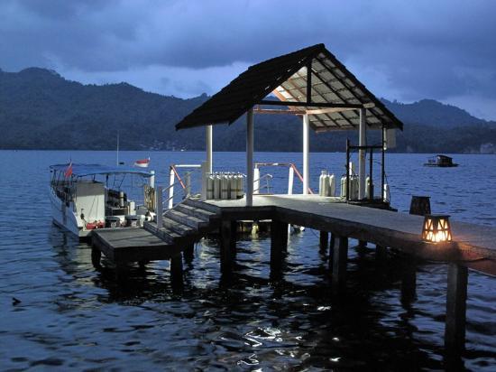 Kasawari Lembeh Resort: Pier