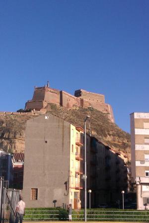 Castillo de Monzón: Castillo Templario