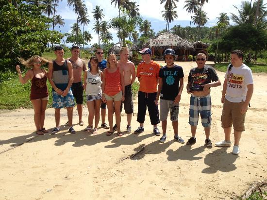 Grand Bahia Principe El Portillo: Some of our group